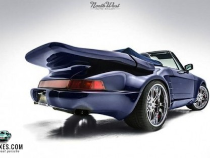 Sir Mix-A-Lot's Porsche For Sale.  It's Got Some Serious Back!