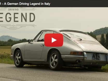 Driving A German Legend In Italy (Video)