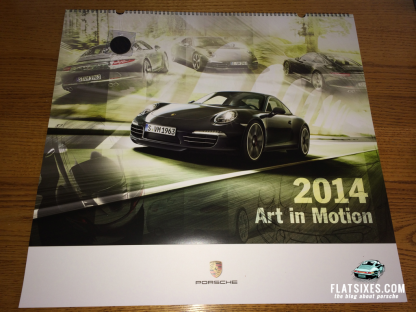 Win 1 of 5 Calendars From Porsche Driver's Selection