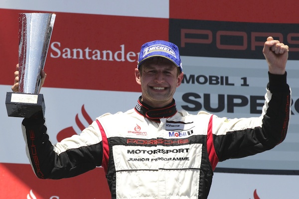 Michael Christensen Porsche works driver