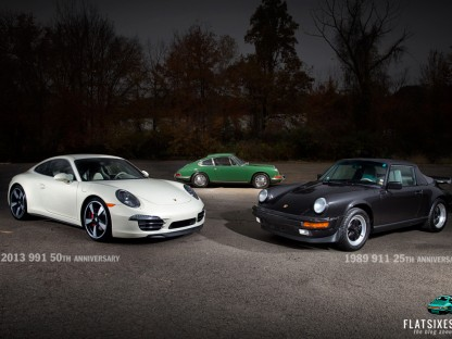Know Your Roots: A 50th Anniversary 911 Meets Its Predecessors