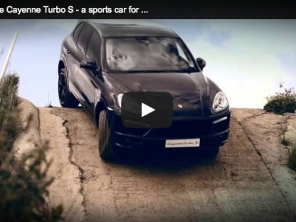 Driving The Porsche Cayenne Turbo S Off-Road