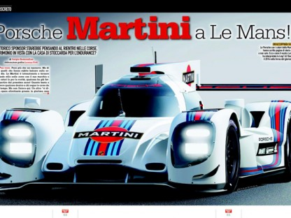 What Will Porsche's LMP1 Livery Look Like For 2014?