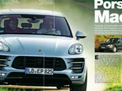 Leaked Magazine Images Reveal Porsche Macan