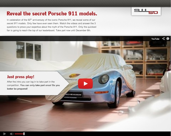test your porsche knowledge