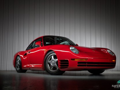 Gooding Showcases Gorgeous Porsche 959 S For Sale