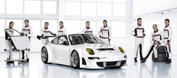 Porsche's 2013 Factory Driver Lineup.  All are back on board for 2014.
