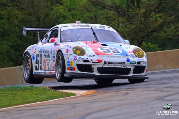 porsche-stormtrooper.2013_GRAND-AM_RoadAtlanta_Brumos-Racing_Two-Wheeling_Front
