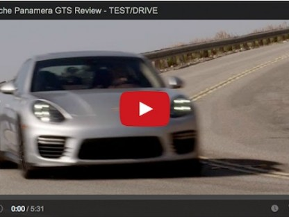 Video Review Of The 2014 Porsche Panamera GTS