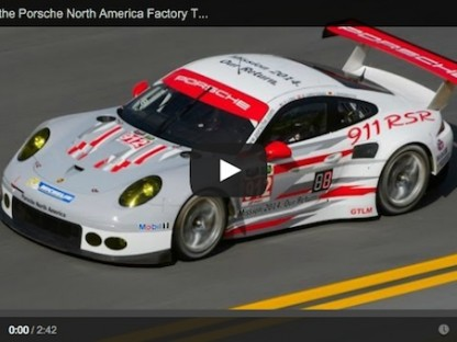 Video Intro To The Porsche North American Factory Team At Daytona
