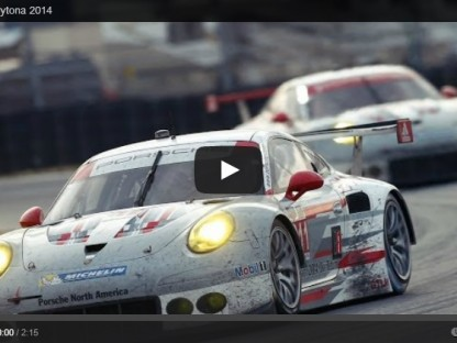 Porsche Wins 2014 Daytona 24 GTLM Class with 911 RSR