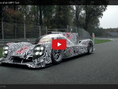 Video: Behind The Scenes Of Porsche's 919 LMP1 Testing