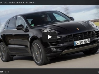 Porsche Macan Tested on Track