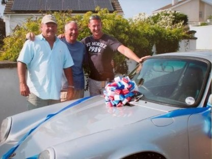 Man Reunited With Porsche As Surprise Retirement Gift