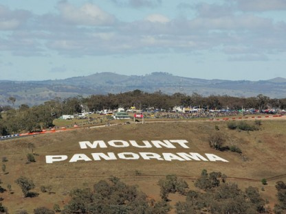 Mount Panorama, Bathurst aeriel view.