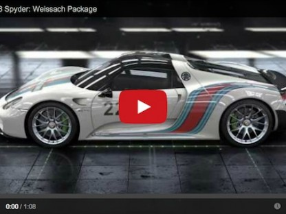 Curious How Porsche Made The 918 Spyder So Light Weight? This Video Will Satisfy That Curiousity