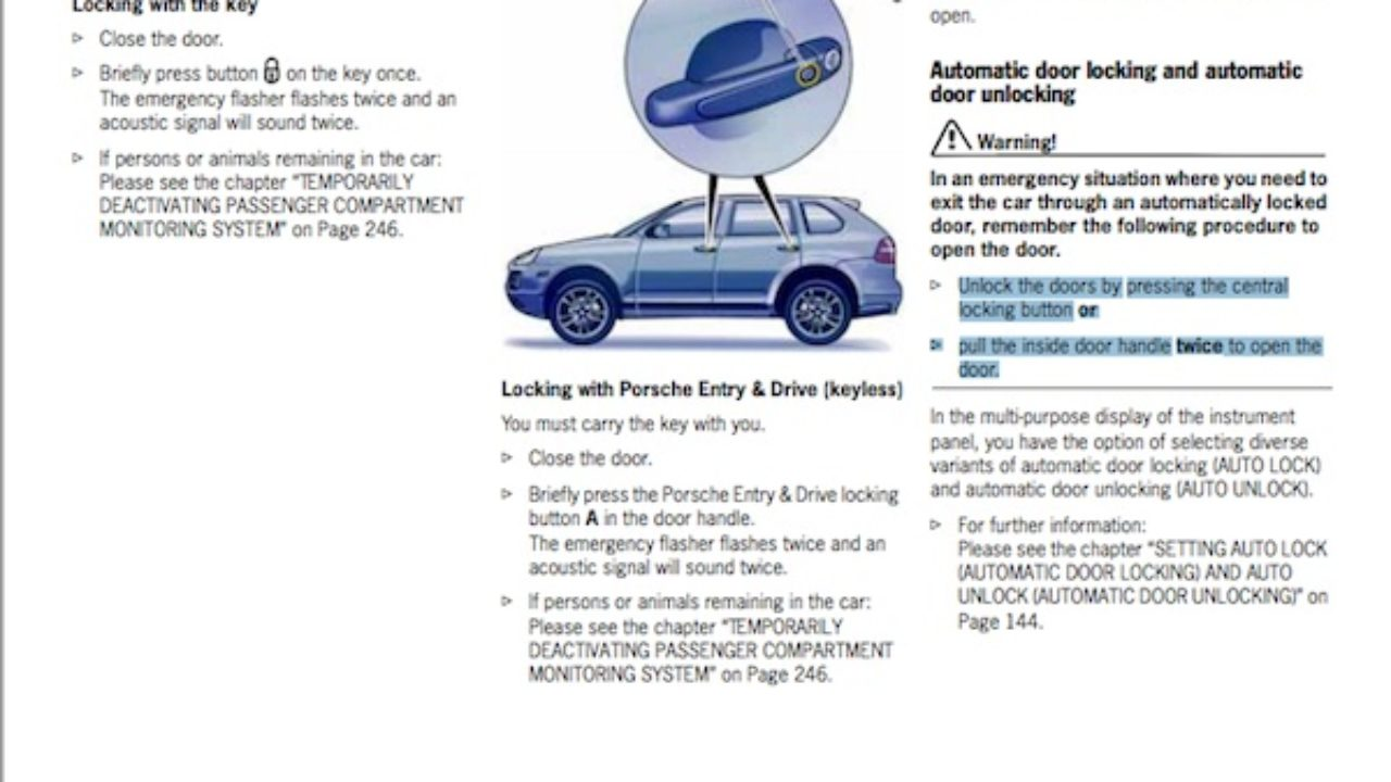 Bmw Auto Lock Setting
