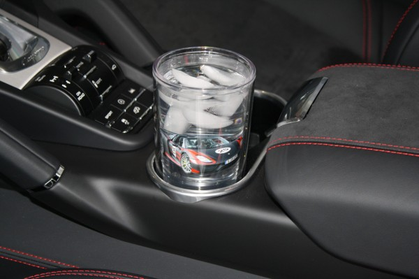 The 16oz Tumbler Fits Perfect In The Cayenne's Drink Holder