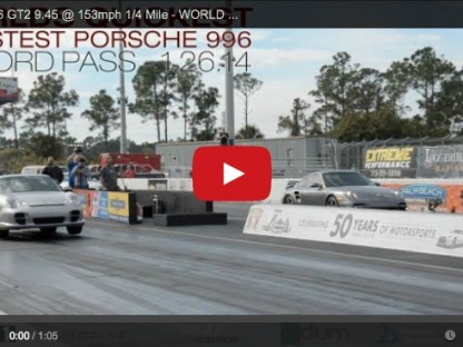 This 820hp Porsche GT2 Is The Quickest 996 In The World, Again