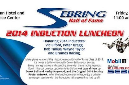 Porsche Well Represented In 2014 Sebring Hall Of Fame Inductees