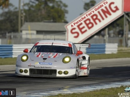 A Porsche Fan's Guide To The 2015 Mobil 1 Twelve Hours Of Sebring