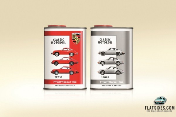 Porsche Classic Motoroil now available for air-cooled Porsches