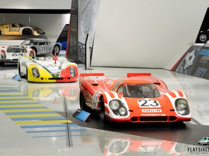 "Check Out These Historic Race Cars On Display During The ""24 Hours For Eternity"" Exhibit At The Porsche Museum"