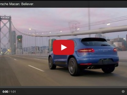 Have You Seen The Newest Commercial For The Porsche Macan?