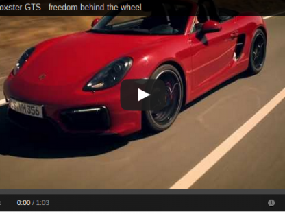 Porsche Boxster GTS Introduction VIdeo