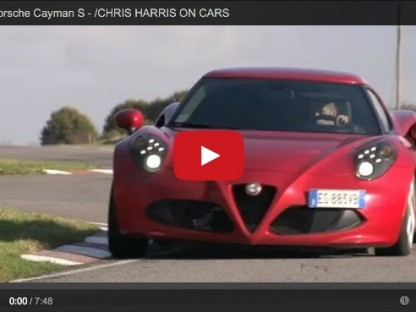 How Does The Porsche Cayman S Compare To the Alfa 4C