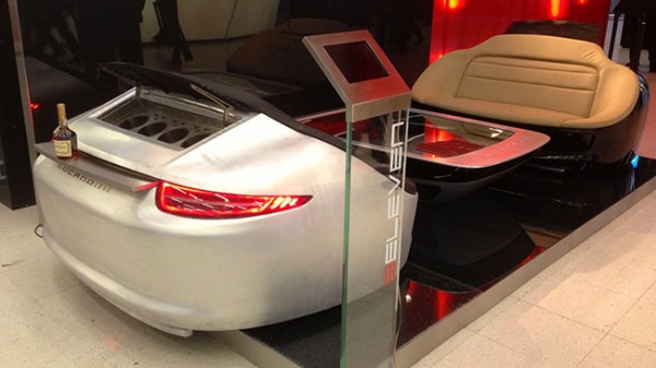 991 Sofa display at Geneva