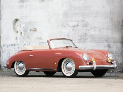 Rare And Beautiful 356 Continental Cabriolet For Sale At Motostalgia Auction