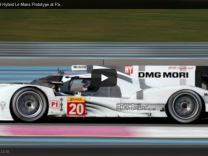 This Is What Porsche's 919 Hybrid LMP1 Sounds Like On The Track