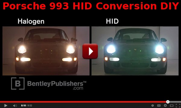 Porsche 993 Hid Headlight Conversion Diy Video