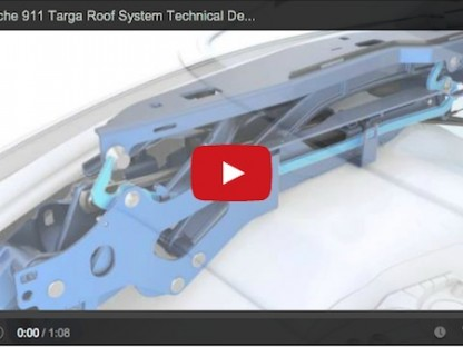 Check Out The Mechanical Magic Porsche Uses To Open And Close The New Targa's Top