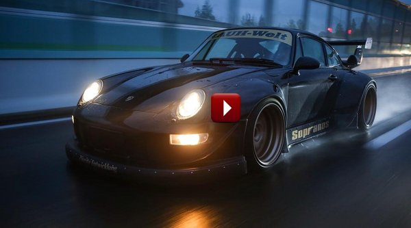 "Porsches For Sale >> NSFW: Meet ""The Sopranos"". China's First RWB Porsche 993 