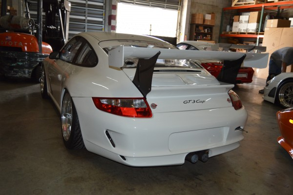 While not really eligible for any professional racing series anymore, a 997 cup car would make a tremendous addition to the garage of any track-junkie with a race-compound tire addiction.