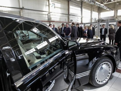 Porsche Engineers New Russian Super-Limo For Putin And His Friends