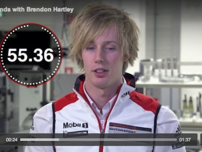 60 Seconds With Brendon Hartley