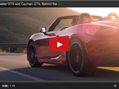 Behind The Wheel Of The New Boxster GTS And Cayman GTS