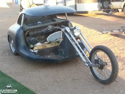 This Is What A Porsche 356 Chopper Looks Like