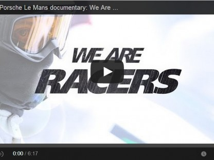 "Video: Michelin And Porsche Attack Le Mans in ""We Are Racers"""