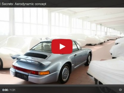 Porsche's Aerodynamic Concept Foreshadowed The 964 and 993 Models