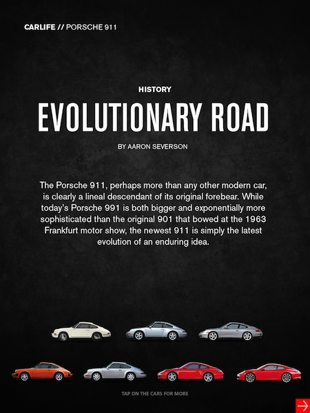 autoweek evolutionary road