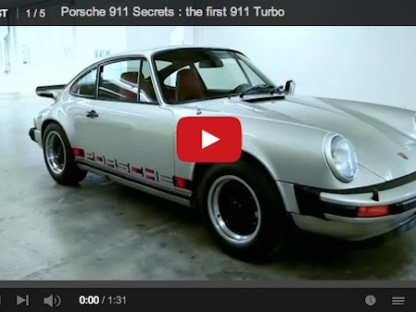 This Is The Very First 911 Turbo