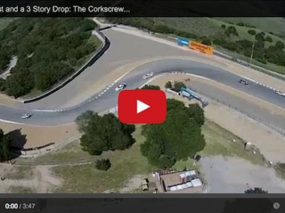 Step By Step Over A Blind Crest And A 3 Story Drop In A Porsche 991 GT3 Cup