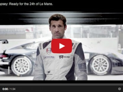 Patrick Dempsey 2014 ready for Le Mans