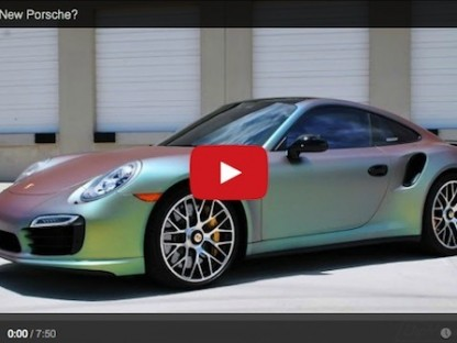 Would You Plasti Dip Your Entire Porsche?