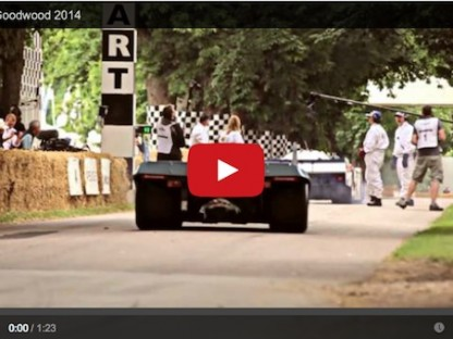 Listen To The Sounds Of Porsche At The Goodwood Festival of Speed
