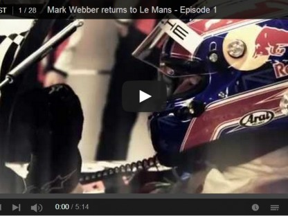 Video Series: Mark Webber's Road To Le Mans